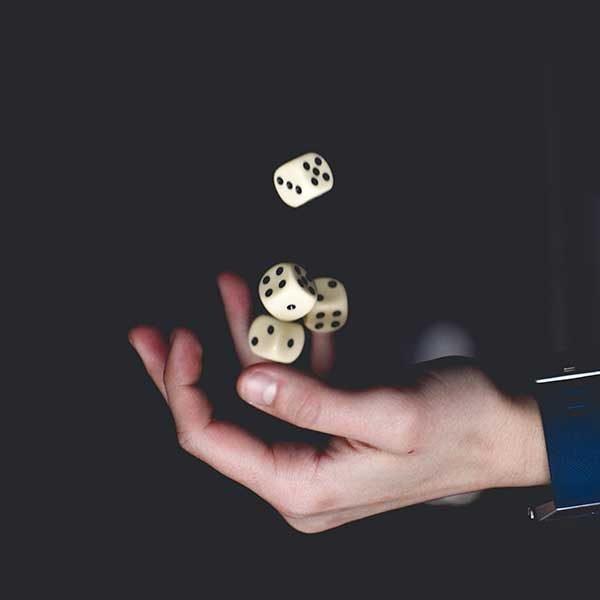trucos de magia dados