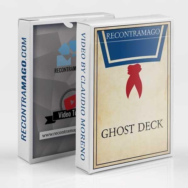 truco de magia baraja fantasma ghost deck