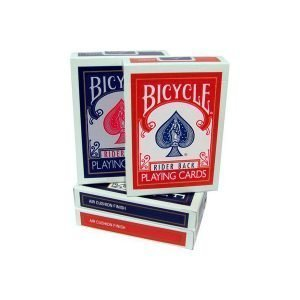 Baraja Bicycle Rider back